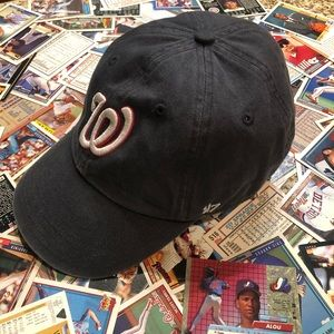 Washington Nationals new era 47' hat